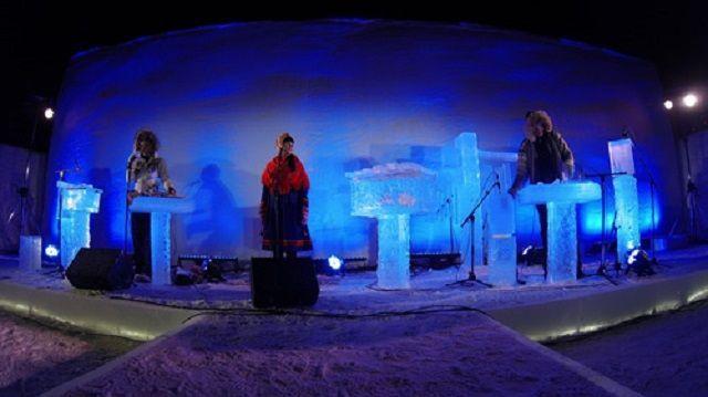 Terje Isungset e i suoi concerti con strumenti di ghiaccio
