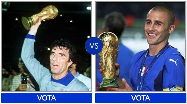 Migliori calciatori italiani di sempre: vota il tuo preferito