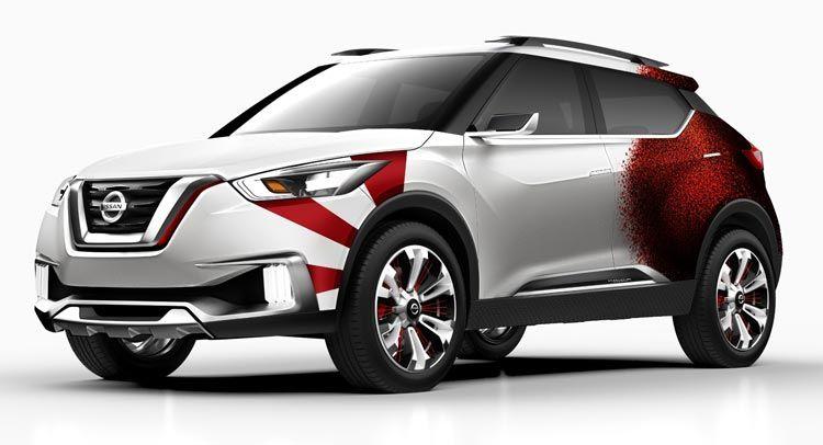 Nissan Kicks concept: nuova livrea al Salone di Sao Paulo 2015