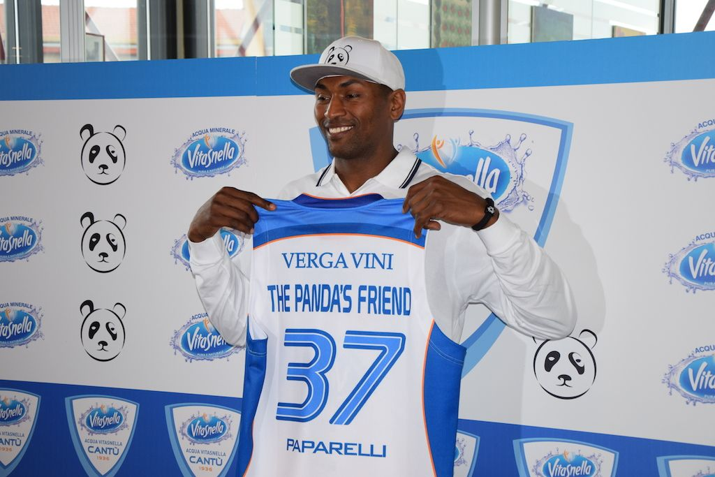 Basket, Metta World Peace sbarca a Cantù