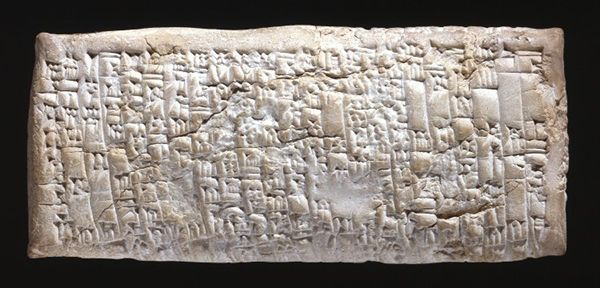 Dalla Mesopotamia la lettera di reclamo scritta 3750 anni fa