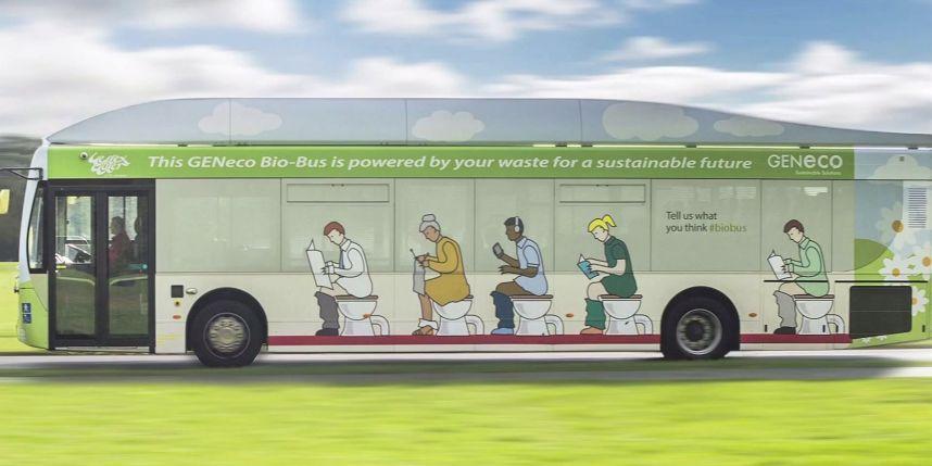 Bio-Bus: l'autobus ecologico alimentato da feci umane