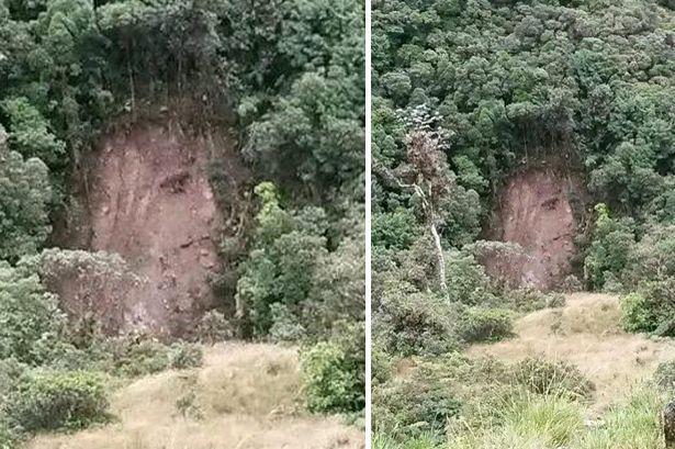 Apparizione di Gesù sulla montagna in Colombia: la foto diventa virale