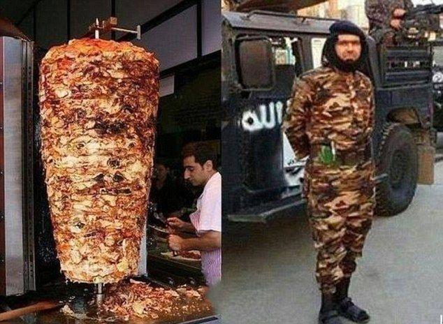 """Il comandante Isis preso in giro dal Web: """"Sembra un kebab"""""""