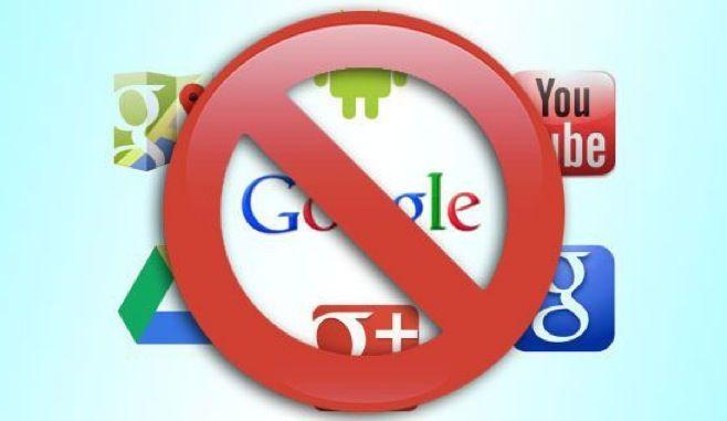 Cancellati da Google e Gmail in tre passi