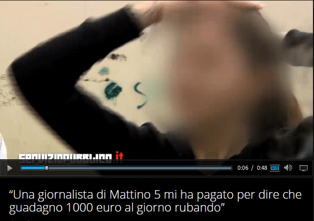 Servizio pubblico, gaffe o scoop di Santoro: 'A Mattino Cinque rom pagata per intervista'