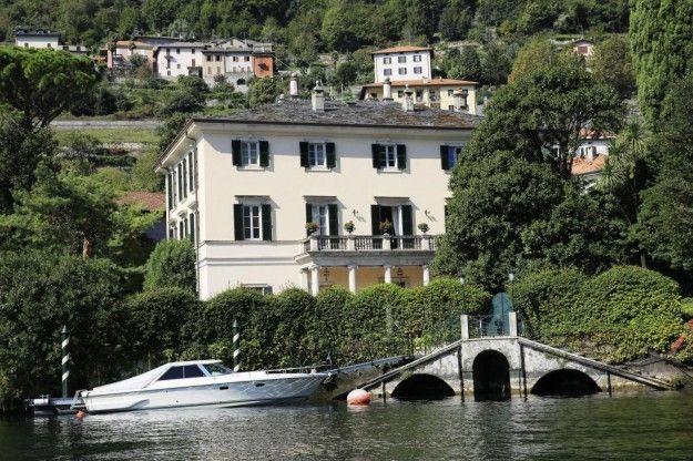 George Clooney, la villa sul lago di Como è blindata: multe salate per chi si avvicina