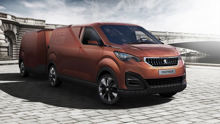 Peugeot Food Truck: la cucina alla francese su quattro ruote