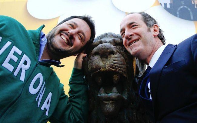 Salvini e Berlusconi alleati per le Regionali: Zaia in Veneto, Toti in Liguria. Base leghista in rivolta