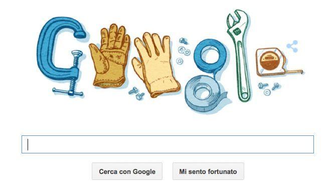 Google Doodle per la Festa del Lavoro