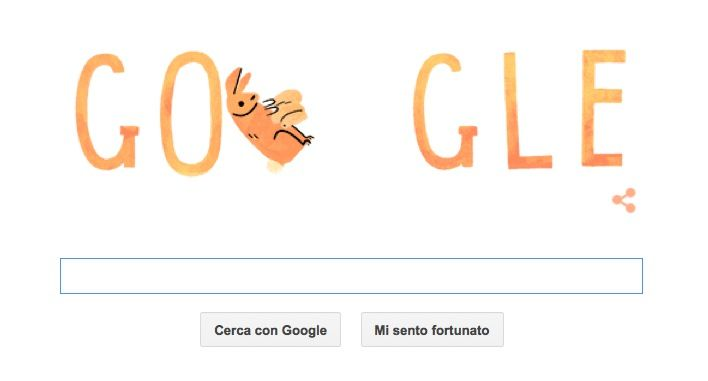 Festa della Mamma 2015 'animale' sul Google Doodle