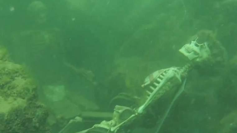 Trovati due scheletri che prendono il te nelle acque del fiume Colorado