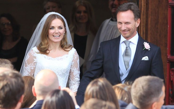 Geri Halliwell si è sposata: Christian Horner è il marito dell'ex Spice Girls