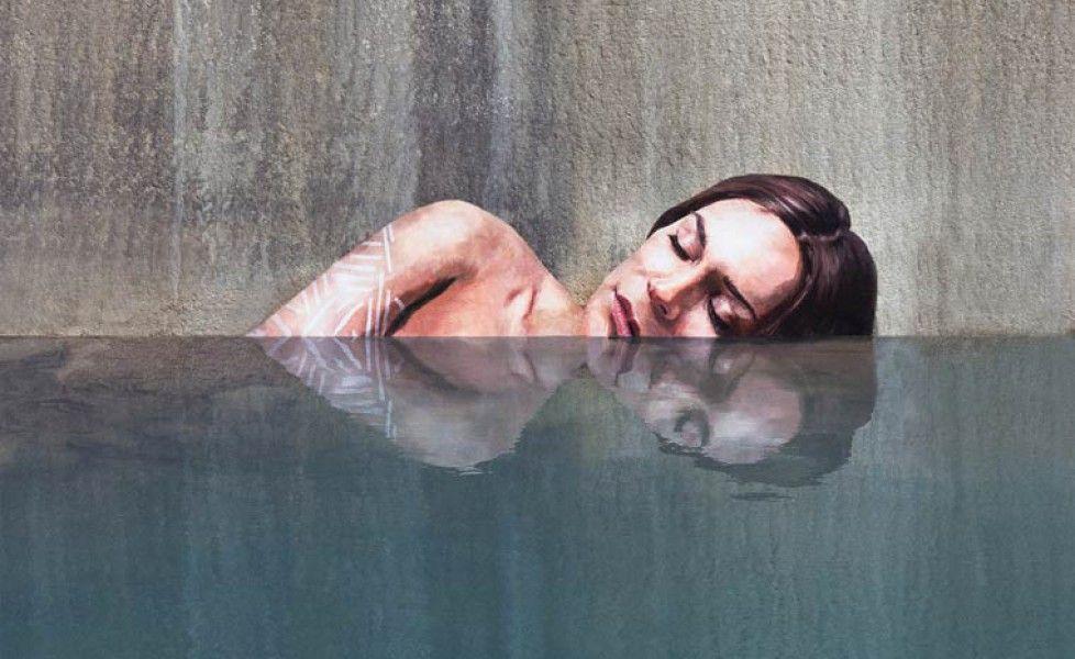 Sean Yoro, lo street artist che dipinge sull'acqua