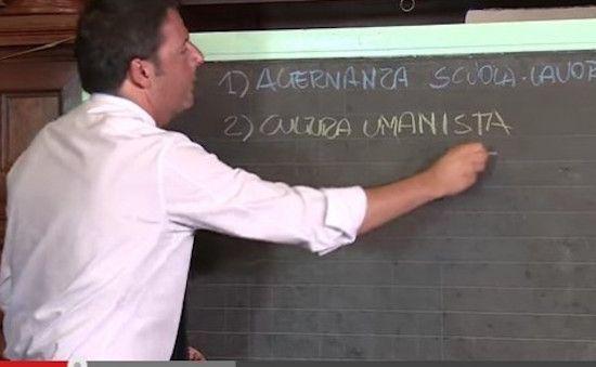 La gaffe di Matteo Renzi sulla Buona Scuola: il Premier bocciato su Twitter