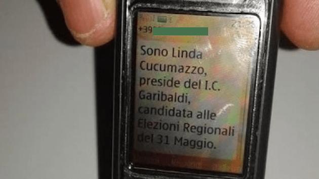 Invia sms elettorali ai genitori dei suoi alunni