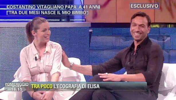 Costantino Vitagliano: 'Il matrimonio con Elisa Mariani dopo la nascita di mia figlia'