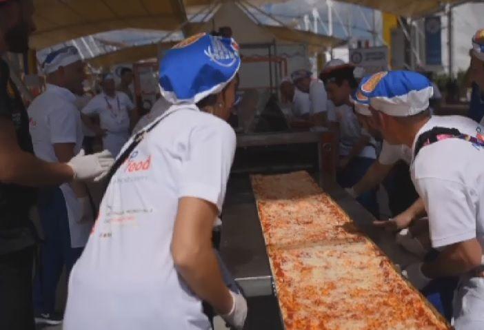 Expo 2015: Pizza Margherita record a Milano