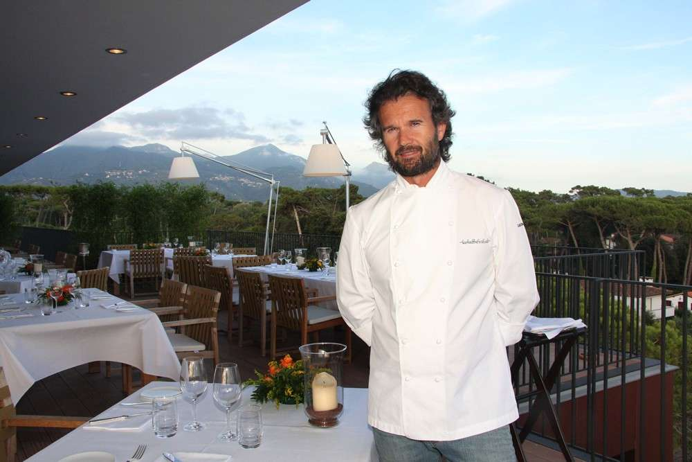 Carlo Cracco chef tenebroso della tv italiana