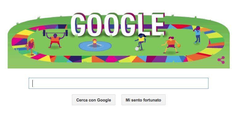 Google Doodle per i Giochi Mondiali Special Olympics