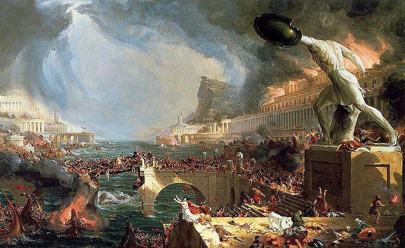 Caduta Impero Romano: tra le cause non solo le invasioni barbariche, anche i vulcani