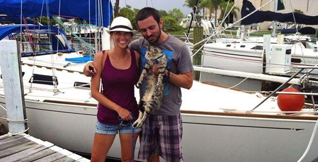 Jessica volta pagina. Pianta tutto e va a vivere in barca col compagno e il gatto