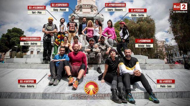 Pechino Express 2015, concorrenti della quarta stagione: le coppie in tv dal 7 settembre