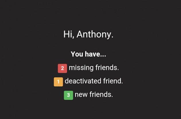 L'app per scoprire chi ti ha cancellato su Facebook