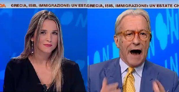 Vittorio Feltri vs Francesca Barra 150x150