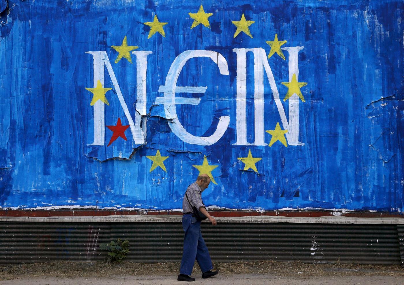 Cosa succederebbe all'Italia se la Grecia uscisse dall'euro?