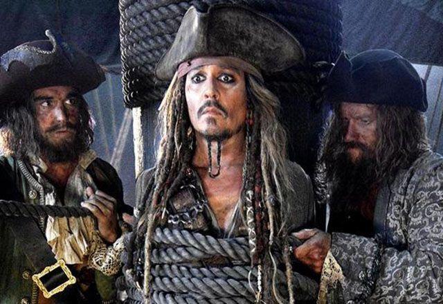 Johnny Depp Jack Sparrow bambini malati