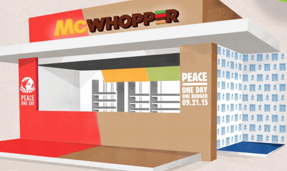 McDonald's dice sì a Burger King: 'Ci fonderemo per un giorno, ma anche più'