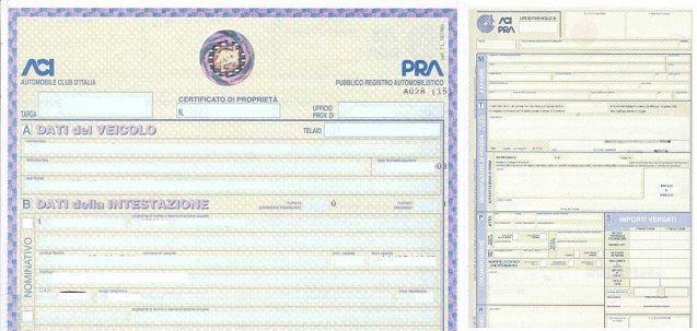 Certificato di proprietà: sarà digitale dal 5 ottobre