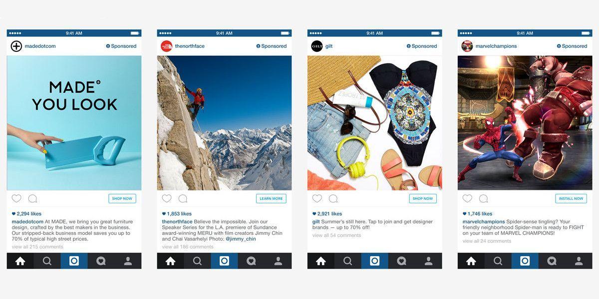 Pubblicità su Instagram: debuttano gli spot sul social network