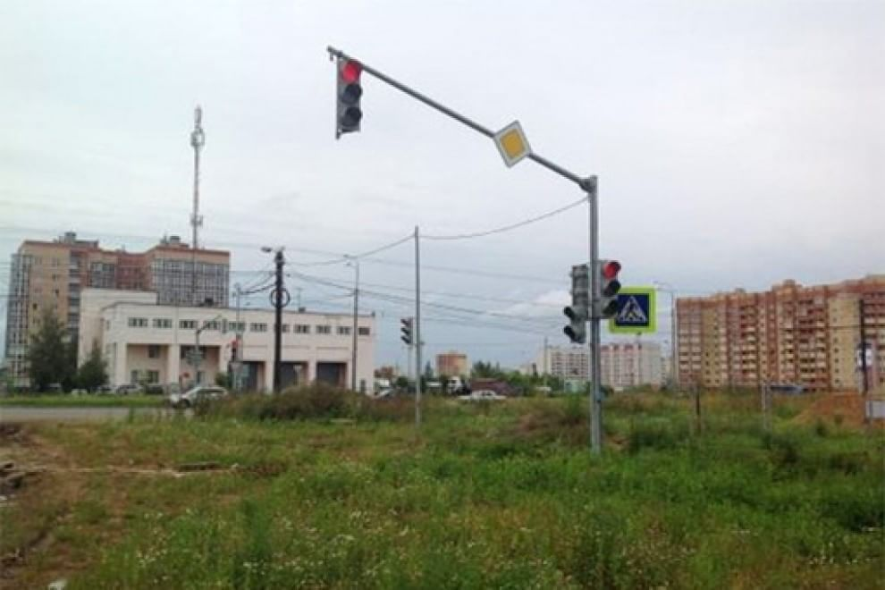 Semaforo fantasma: succede in Russia
