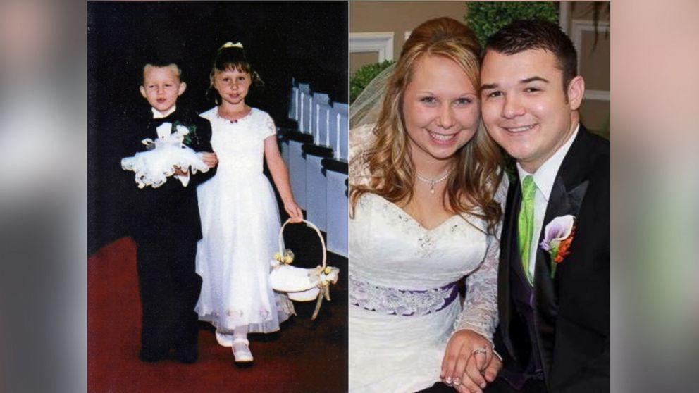 Sposi nella stessa chiesa dove furono paggetto e damigella a 5 anni