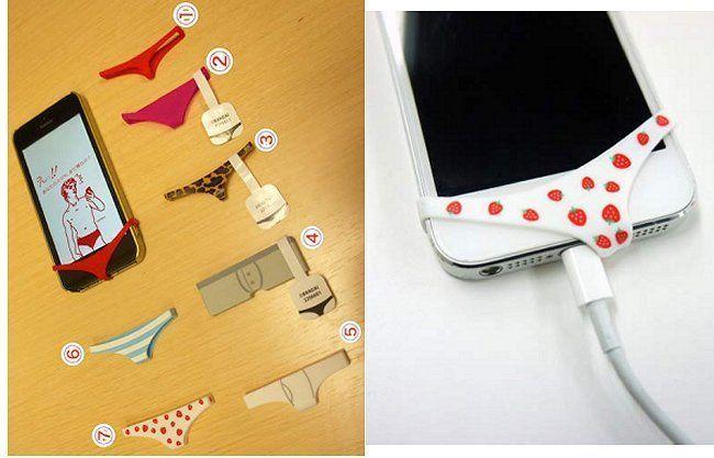 Mutande per smartphone: la nuova giapponesata