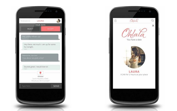 Ohlala app: l'Uber per il sesso a pagamento