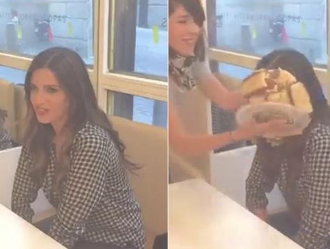 Sara Carbonero: torta in faccia per il debutto su Instagram