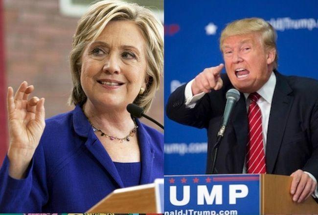 Presidenziali USA 2016, candidati a confronto: la signora della politica contro il rude riccone