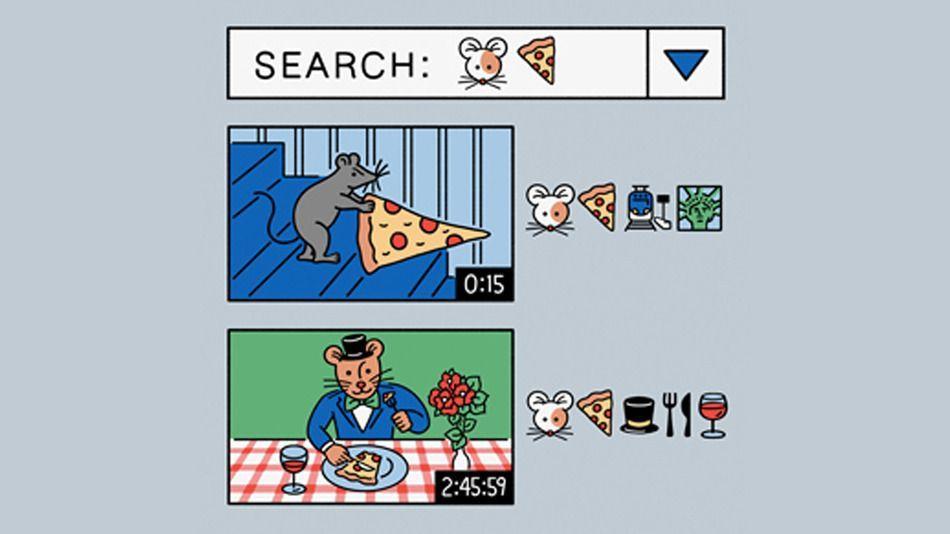 Il motore di ricerca di video su YouTube che usa Emoji