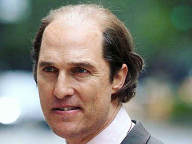 Matthew McConaughey brutto grasso pelato