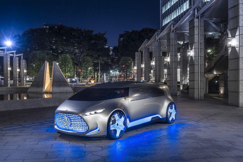 Mercedes Vision Tokyo: l'auto che diventa un salotto