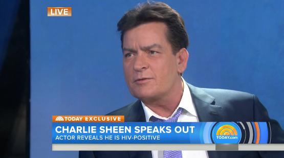 Charlie Sheen a NBC sono sieropositivo