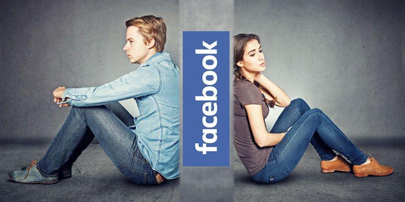 Lasciarsi su Facebook