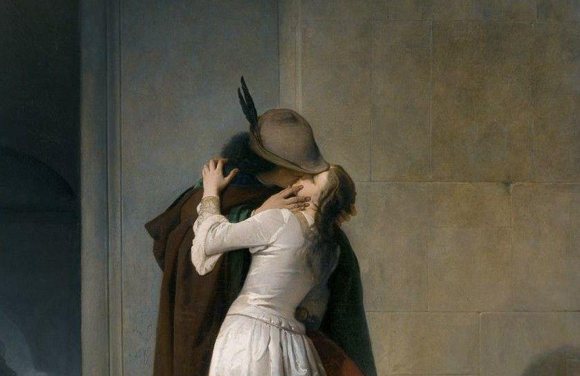 Mostra Hayez Milano 2015, Il bacio