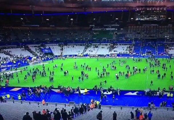 Strage Parigi stadio