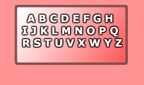 Conosci l'alfabeto? Scopri l'errore!