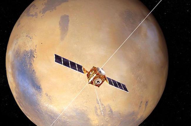 Atmosfera di Marte strappata via dal Sole: la scoperta della NASA