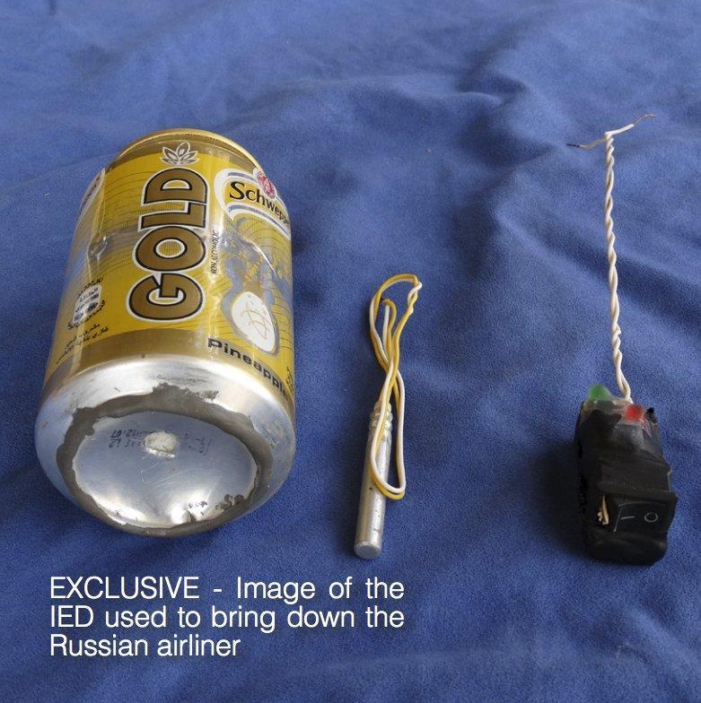 Aereo Russi precipitato nel Sinai, Isis pubblica foto della presunta bomba